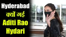 Aditi Rao Hydari Spotted at Airport