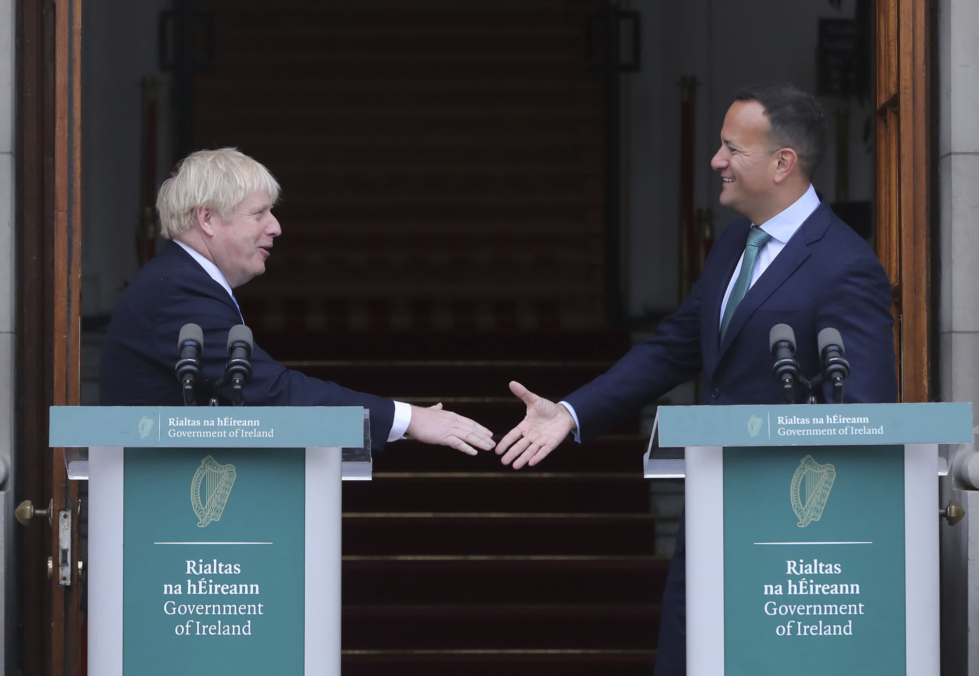 Johnson 'rejected NI-only backstop' in meeting - DUP
