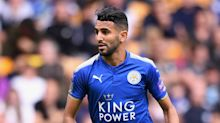 Leicester City's Shakespeare thumbs up Mahrez professionalism