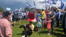 Israel's Canadian supporters rally, more pro-Palestinian demonstrations held as violence continues in Gaza