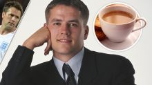 Michael Owen causes a real stir - he says he can't stand tea or coffee!