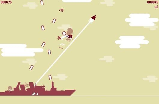 Arcade dogfighter Luftrausers on Vita, PS3, PC, Mac, Linux all at once