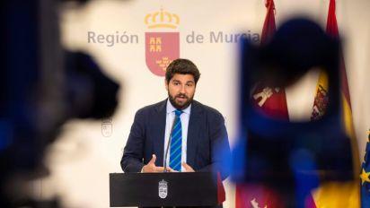 López Miras, propuesto para segunda investidura en Murcia tras apoyo de Vox