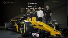 Renault target top five in Formula One