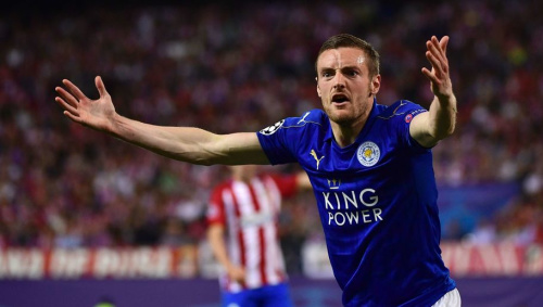 Shocking Stat Shows Just How Ineffectual Jamie Vardy Was in Defeat to Atletico Madrid
