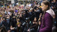 """""""Nicht mehr in fossile Brennstoffe investieren"""" - Thunberg heizt Weltwirtschaftsforum in Davos ein"""