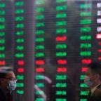 Global shares extend gains on U.S. stimulus, upbeat data