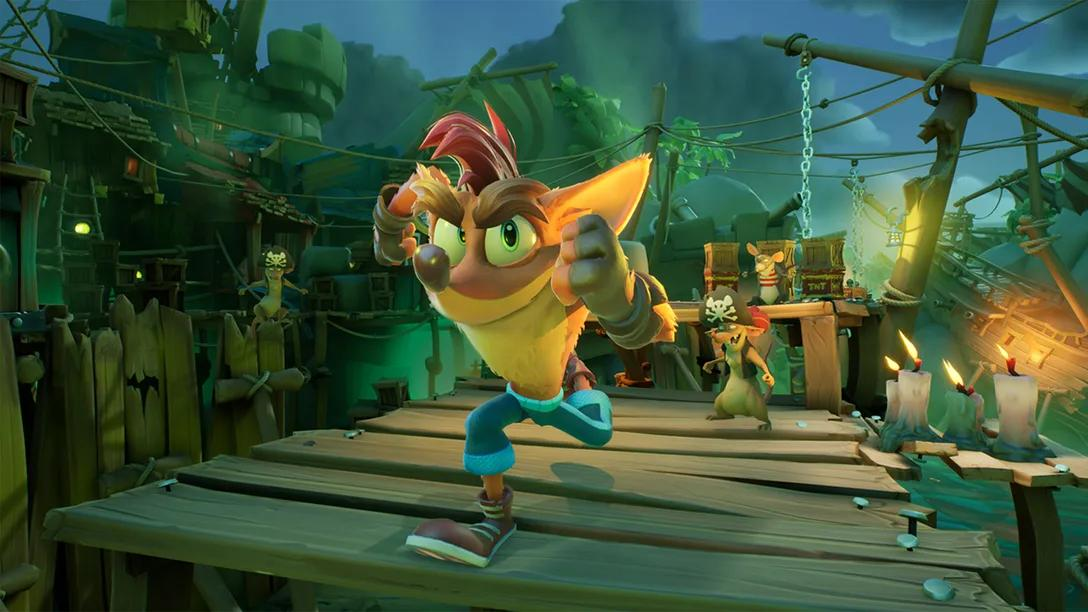 Toys for Bob details 'Crash Bandicoot 4' upgrades for the PS5 | Engadget