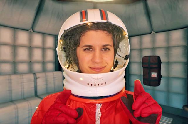 The strange life of video game voice actor Ashly Burch