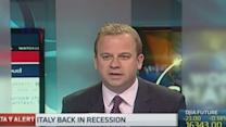 Italy back in recession