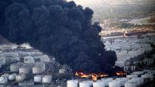 Schwarzer Rauch über Houston: Großbrand in Chemiewerk