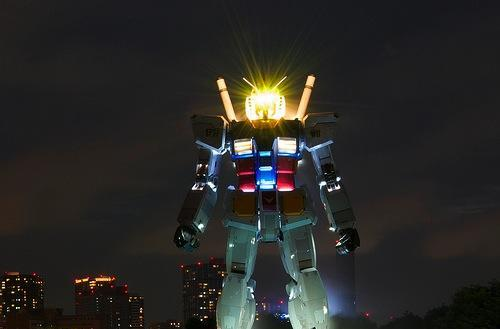 Video: Life-sized Gundam's back, looking deadlier than ever
