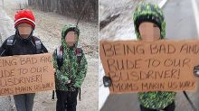 'S--- just got real for them': Ontario mom makes 'rude' sons walk two hours to school