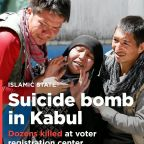 PHOTOS: Islamic State lays claim to suicide bombing in Kabul killing dozens at voter registration center