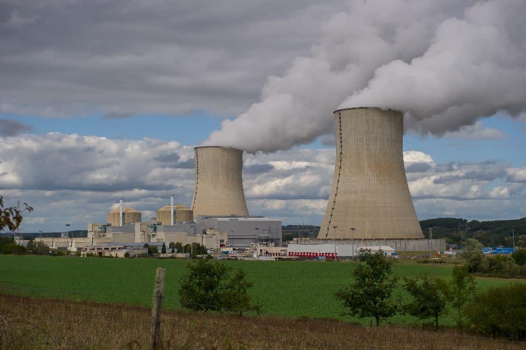 The Civaux nuclear power plant, 34 km southeast of Poitiers, Western France (AFP Photo/Guillaume Souvant)