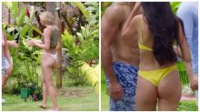Bachelor fans in a spin over tiny bikini bottoms