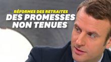 Réforme des Retraites : Macron n'a pas respecté toutes ses promesses