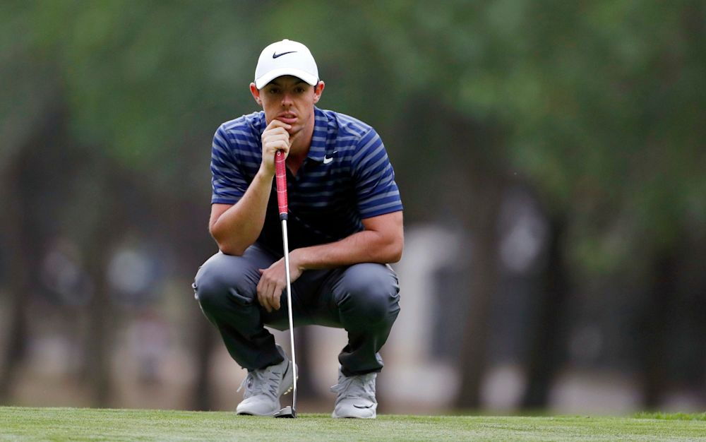 The Masters is the only major Rory McIlroy is yet to win - AP