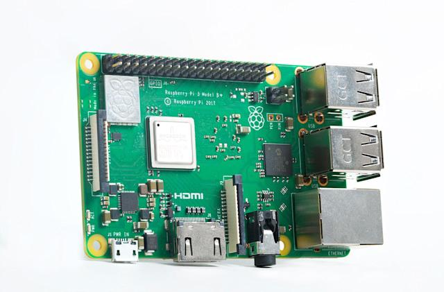 Upgraded Raspberry Pi 3 delivers more power and faster networking
