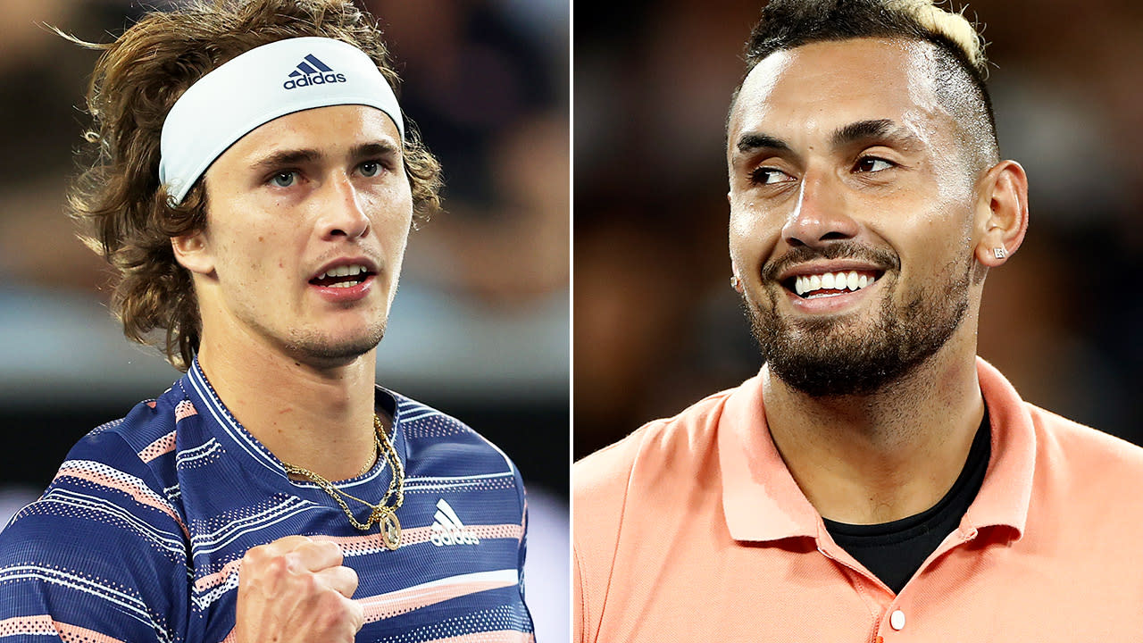 'Please shush': Nick Kyrgios' cutting sledge for Australian Open rival