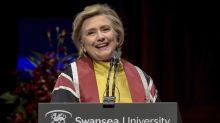 Hillary Clinton says Brexit uncertainty affecting children