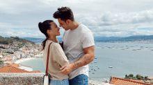 Diego Matamoros y Carla Barber presumen su amor por Galicia