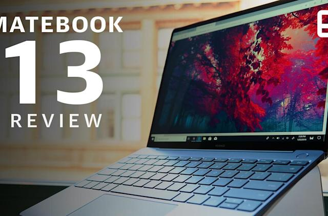 Huawei MateBook 13 review: An uninspiring MacBook Air clone