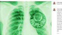 Jogadores, ídolos e clubes celebram aniversário do Palmeiras nas redes
