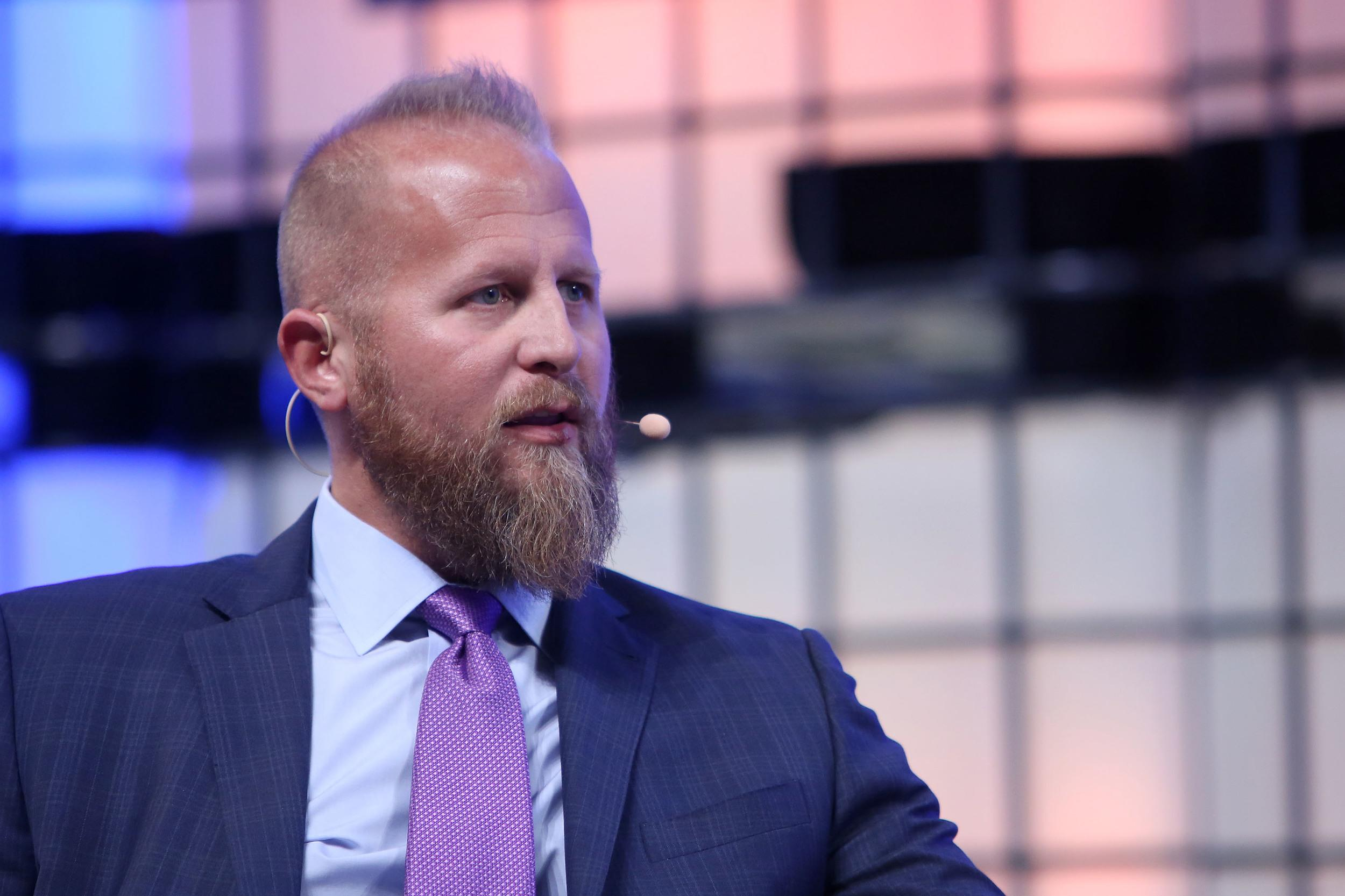 (FILE) - Brad Parscale, Digital Director, Donald J. Trump Presidential Campaign, speaks on the third day of the 7th Web Summit in Lisbon, Portugal, 08 November 2017. Media reports on 27 February 2018 state that US President Donald J. Trump has chosen Brad Parscale to run his campaign to win the 2020 re-election bid. ( Photo by Pedro Fi�za/NurPhoto via Getty Images)