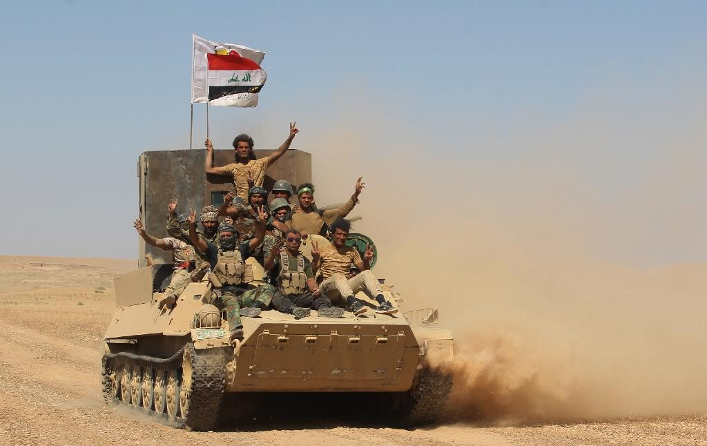 Iraqi forces advance towards the city of Tal Afar on August 20, 2017