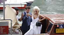 Muy glamourosa Lady Gaga en Venecia