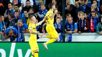 Pulisic rescues 10-man Dortmund again