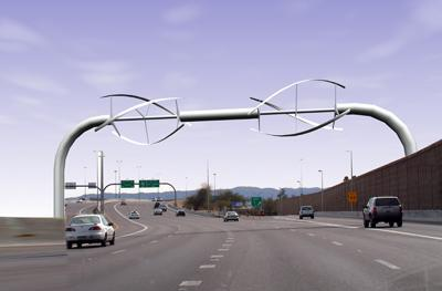 Proposals would turn highways into wind farms
