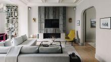 【居家裝潢】時髦典雅的住宅規劃,體現英倫雅緻風情