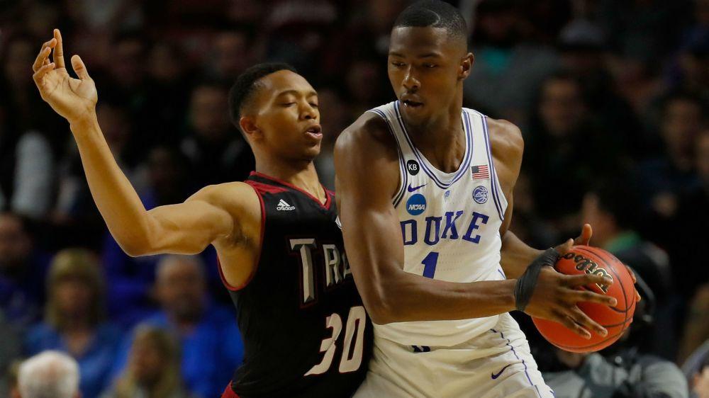 Duke freshman Harry Giles declares for NBA Draft