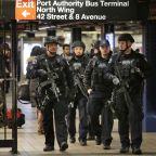 Subway bombing suspect faces charges from his hospital bed