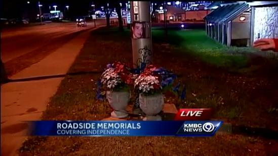 Roadside memorials to be banned in Independence