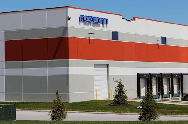Foxconn drastically scales back plans for $10 billion Wisconsin factory