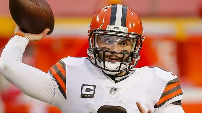 Baker is more than the Browns' handoff specialist