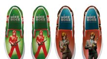 David Bowie Photographer Mick Rock is Now Printing His Iconic Images on Shoes