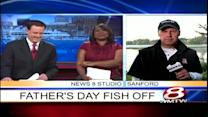 Sanford celebrates Father's Day with fishing derby, r.c. helicopter demonstration