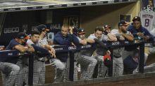 Astros' big bats go silent in ALCS opener loss to Tampa Bay