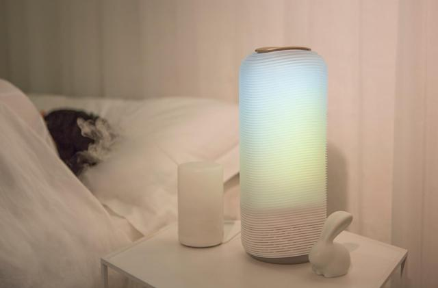 Mood-enhancing Auri light packs Alexa smart home control