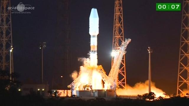 Satellite bound for Milky Way launches in French Guiana