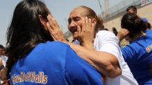 Families separated by US-Mexico border have fleeting reunion