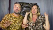 Giovanna Ewbank e Bruno Gagliasso são flagrados pela filha na hora H