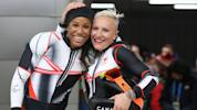 Humphries settles for bronze in women's bobsled