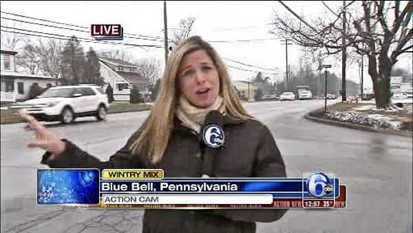 Wintry Mix: Katherine Scott in Blue Bell, Pa.