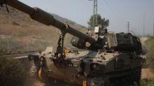 """Israel meldet """"anhaltende Kämpfe"""" an der Grenze zum Libanon"""
