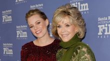 Elizabeth Banks Helps Honor 'Smoking Hot Boss' Jane Fonda